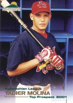 Yadi rookie card in celebration of his 10 year anniversary. So sexy St Louis Baseball, St Louis Cardinals Baseball, Stl Cardinals, Baseball Players, Baseball Cards, Baseball Stuff, Baseball Pics, Mlb, Cardinals Players