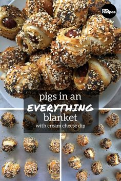Pigs in an Everything Blanket   MyRecipes Sometimes, the perfect ...