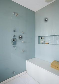 Back Painted Glass Shower Walls   Google Search