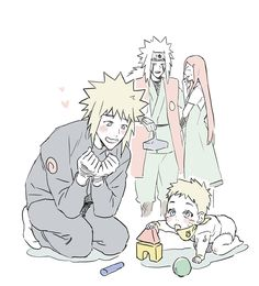 Minato Kushina, Naruto Uzumaki Shippuden, Naruhina, Boruto, Sasuke, Narusasu, Sasunaru, Naruto Cute, Anime Naruto
