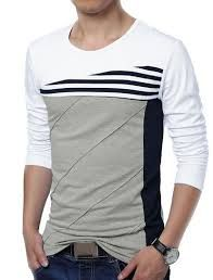 mens color block t-shirts - Google Search