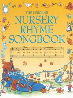 Nursery Rhyme book - wish I could get my hands on one of these!
