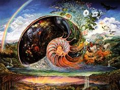 Nautilus - Josephine Wall (born is a popular English fantasy artist. Josephine Wall, Nautilus, Fantasy Kunst, Fantasy Art, Fantasy Paintings, Art Expo, Art Visionnaire, Visionary Art, Fantasy World