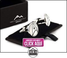 Mind Care Essentials Gemelos de Star Trek, acero inoxidable, un par en caja de regalo  ✿ Joyas para niños - Regalos ✿ ▬► Ver oferta: https://comprar.io/goto/B0183HF2XQ
