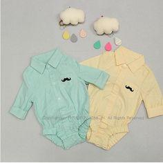 正版韓國童裝-嬰兒包屁衣連身衣-嬰兒帽.圍兜.口水巾