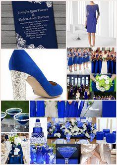 Mariage bleu roi blanc idées \u0026 sélection shopping