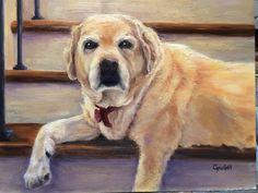 Father Birthday, Watercolor Paintings, Watercolors, Giclee Print, Labrador Retriever, Fine Art, Portrait, Pets, Creative