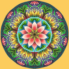 Uplift the ambiance of your home with the Mandala collection of paintings. Buy the Mandala collection of painting kits if you love colorful and hypnotic artwork. Mandala Art, Mandala Design, Mandalas Painting, Lotus Mandala, Mandalas Drawing, Flower Mandala, 5d Diamond Painting, Cross Paintings, Mandala Coloring