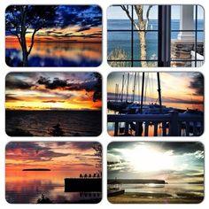 Sunsets in Door County ...