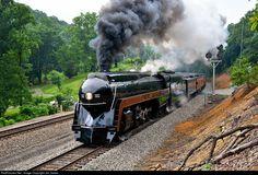 RailPictures.Net Photo: NW 611 Norfolk & Western Steam 4-8-4 at Villamont, Virginia by Jim James