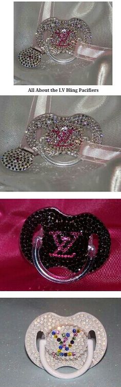 Bling pacifiers