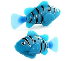 Top Seller Blue Robo Electric Fish Toy Gifts for Kids - newest Novel Robo Fish -- perfect for absent friends