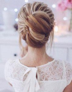 Tonya Pushkareva Wedding Hairstyle Inspiration