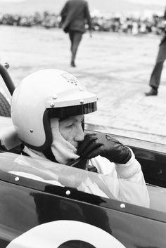 Jochen Rindt auf Lotus Ford, Internationales Flugplatzrennen Tulln-Langenlebarn, Austria, 1969, Photo by Erwin Jelinek