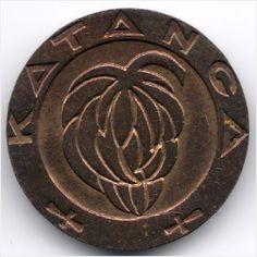 Katanga 1 Franc 1961 Veiling in de Congo-Kinshasa,Afrika,Munten,Munten & Banknota's Categorie op eBid België