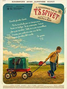 """Entrevista a Jean-Pierre Jeunet, director de """"El extraordinario viaje de T.S. Spivet"""" http://tavernamasti.blogspot.com.es/2014/07/entrevista-jean-pierre-jeunet-director.html"""