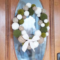 Natural Spring Wreath | B Vintage