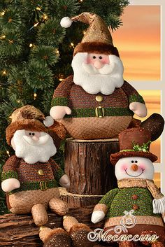 Best 12 New Year Christmas Decorations for Home Christmas Tree Ornament Xmas Dolls Standing Figurines Christmas Gift Navidad 2019 – SkillOfKing. Christmas Clay, Father Christmas, Christmas Tree Ornaments, Christmas Holidays, Christmas Crafts, Christmas Decorations, Xmas, Holiday Decor, Santa