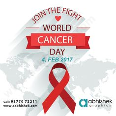 Supporting the fighters, admiring the survivors, honoring the taken, and never, ever giving up #HOPE #WorldCancerDay2017 #GraphicDesign Visit Us: http://www.aabhishek.com/