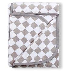 Alice & Fox Blanket Checkboard Grey |  #jollyroom
