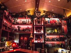 Trader Sam's Enchanted Tiki Room at the Disneyland Hotel | The Unofficial Bar Crawl Map For Disney California Adventure