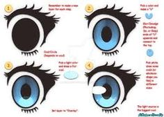 #anime #eyes tutorial #manga #drawing #tutorials #painting