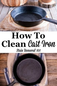 14 Clever Deep Cleaning Tips & Tricks Every Clean Freak Needs To Know Deep Cleaning Tips, House Cleaning Tips, Spring Cleaning, Cleaning Hacks, Iron Cleaning, Cleaning Solutions, Cleaning Supplies, Clean Baking Pans, Cast Iron Cookware