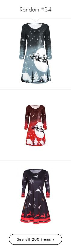 """""""Random #34"""" by theavengers353 ❤ liked on Polyvore featuring dresses, long sleeve t shirt dress, longsleeve dress, round neck t shirt dress, long sleeve christmas dress, t-shirt dresses, long sleeve day dresses, round neck dress, red christmas dress and round neck long sleeve dress"""