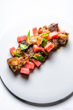 pork and watermelon more watermelon salad budget cooking pork belly ...