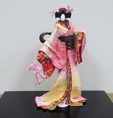 創作和紙人形三人展・「和紙遊遊」。 - 「物知りは楽しい」
