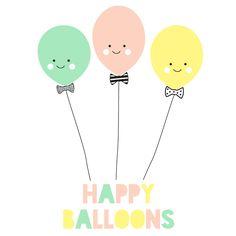 Image of FIESTA HAPPY BALLOONS