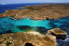 Comino's breathtaking Blue Lagoon is named one of Europe's top three swimming spots by TripAdvisor