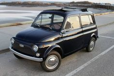1972 Autobianchi Bianchina Maintenance of old vehicles: the material for new cogs/casters/gears/pads could be cast polyamide which I (Cast polyamide) can produce