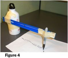 Build their own simple seismograph to measure shaking #STEM