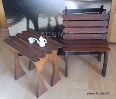 Výsledek obrázku pro nábytek pro panenky Kirigami, Picnic Table, Zentangle, Barbie, Furniture, Home Decor, Baby Doll House, Houses, Decoration Home
