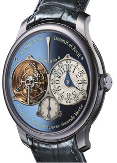F.P. Journe Tourbillon Soverain Bleu for ONLY WATCH 2015 angleview - Perpetuelle