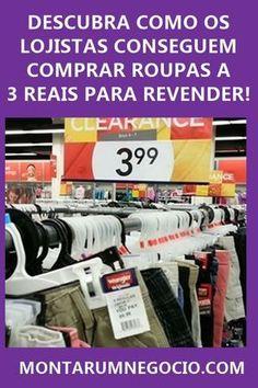 Descubra como os lojistas conseguem comprar roupas baratas a R  3 Reais  para revender! 286c83ffd45