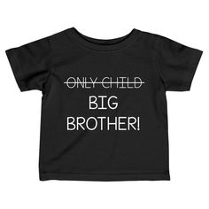 Only Child to Big Brother Toddler Shirt, Big Brother Shirt, Second Pregnancy. - Only Child to Big Brother Toddler Shirt, Big Brother Shirt, Second Pregnancy Announcement Shirt - 2nd Pregnancy Announcements, Pregnancy Congratulations, Pregnancy Timeline, Pregnancy Videos, Pregnancy Goals, Pregnancy Journal, Pregnancy Quotes, Plus Size Pregnancy, Pregnancy Shirts