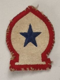 WWII US Army North African Theater of Operation Patch