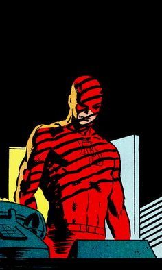 Daredevil by Frank MillerYou can find Frank miller and more on our website.Daredevil by Frank Miller Comics Anime, Old Comics, Vintage Comics, Arte Dc Comics, Marvel Comics Art, Marvel Heroes, Comic Sans, Comic Book Characters, Comic Books Art