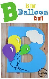 Letter B Craft with FREE printable template. Perfect for preschool or kindergart… Letter B Craft with FREE printable template. Perfect for preschool or kindergarten. Letter B Activities, Preschool Letter Crafts, Alphabet Letter Crafts, Abc Crafts, Preschool Projects, Preschool Learning Activities, Kindergarten Crafts, Classroom Crafts, Preschool Activities