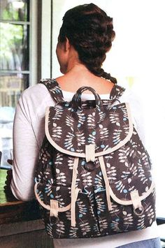 """""""I Love My Campervan Bag, Can You Sew Me a Backpack?"""" - sew-whats-new.com"""