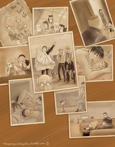 Snapshots by MethodforMadness on DeviantArt- DAMN it's weird seeing my stuff on here #royai fullmetal alchmist:parenthood