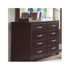Carolina Furniture Works, Inc. Signature Tall 8 Drawer Dresser