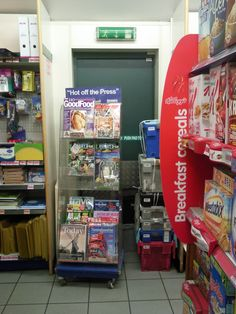 Blocked fire exit in shop, from >>> Belvoir Safety Services, visit safetyphoto to see what lies behind the closed door