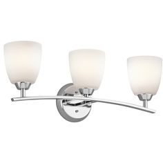 Upgraded Bath Light - Granby 3-Light Vanity in Chrome (Included with Chrome Alteo Plumbing Package)