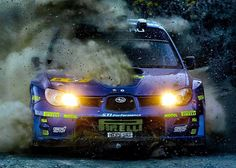 This wasn't Subaru's most reliable rally car, nor the fastest. But, it looked great amazing in its WRC spec widebody and livery. Photo: Subaru in Rallying Subaru Rally, Subaru Impreza Wrc, Rally Car, Subaru Auto, 4x4, Pagani Huayra, Sv Lamborghini, Sport Cars, Race Cars