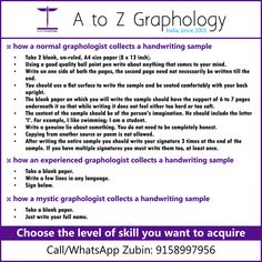 Tried Mystic Graphology yet?