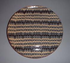 feathering slipware    in black and white???