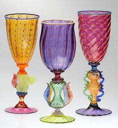 Tutti Frutti Optic Spot Goblets